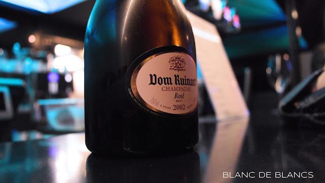 Dom Ruinart Rosé 2002 - www.blancdeblancs.fi