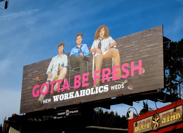 Workaholics season 4 special extension billboard