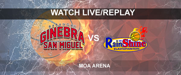 List of Replay Videos Ginebra vs ROS September 16, 2017 @ Mall of Asia Arena