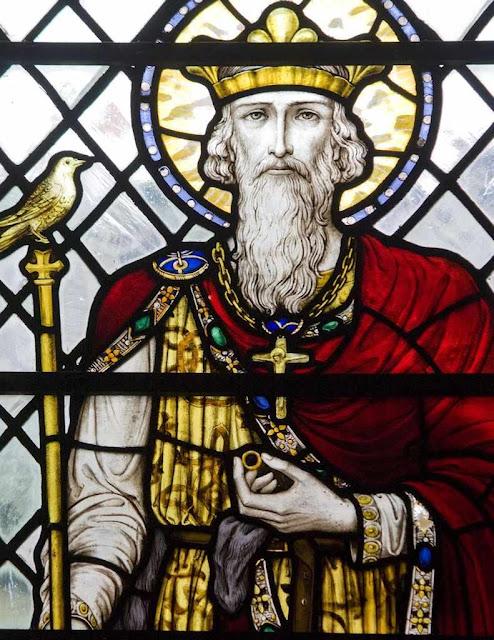 Santo Eduardo III, rei da Inglaterra.
