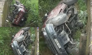 Cab Accident In Rikillagaskada