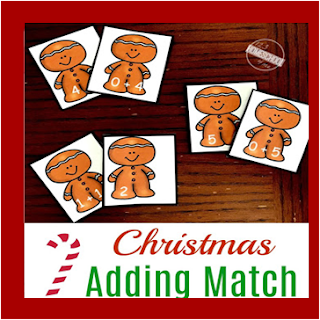 gingerbread addition - christmas math