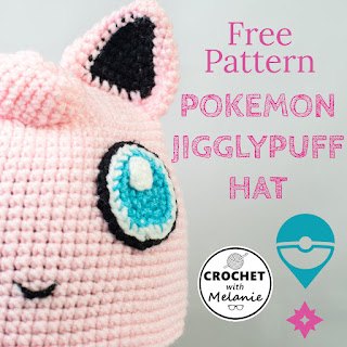 Pokemon Jigglypuff Hat - Free Crochet Pattern
