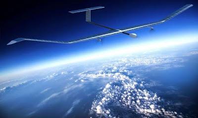 Zephyr S, un drone d'alta alçada