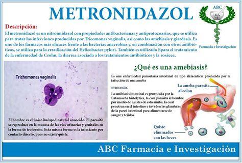 dientamoeba fragilis tratamiento metronidazol