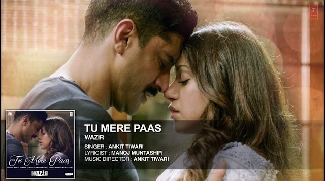 Tu Mere Paas Guitar CHORDS + Strumming Pattern, Hindi song from the movie WAZIR