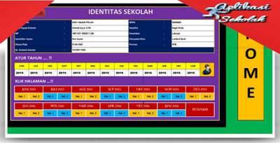 Aplikasi Sekolah Laporan Bulanan SD Format Excel