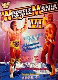 Hulk Hogan VS Ultimate Warrior - WrestleMania VI