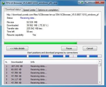 Speed Test IDM No Limit Bandwith Mikrotik SandroidTeam