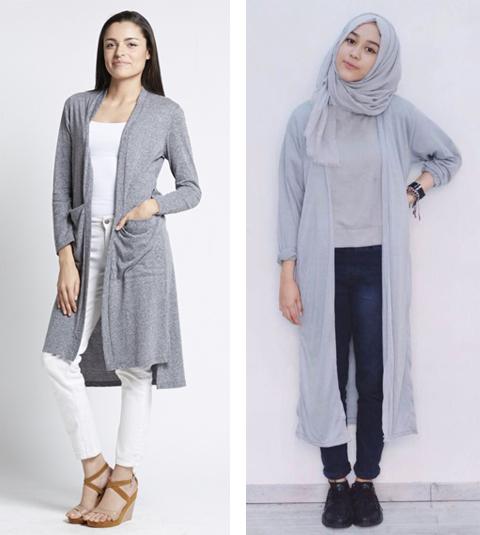 12 Contoh Gambar Model Baju Cardigan Terbaru 2017