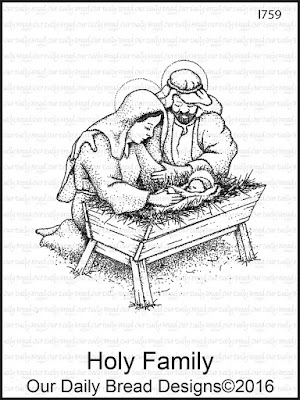Our Daily Bread Designs Stamp: Holy Family