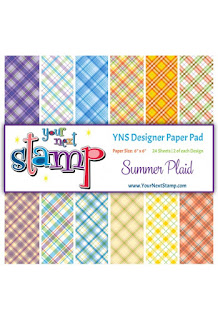 Designer Paper Pad Summer Plaid