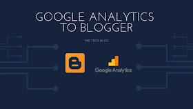 Add Google Analytics to Blogger