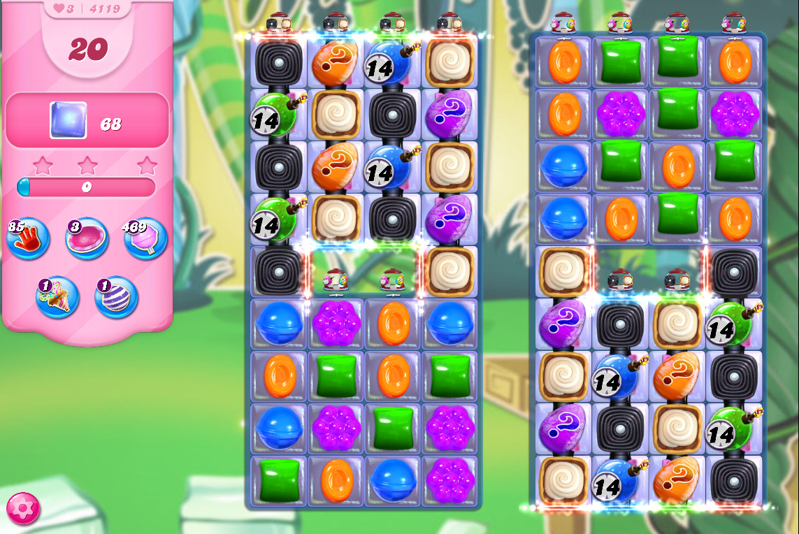 Candy Crush Saga level 4119