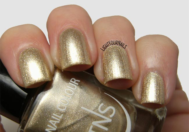 Smalto oro TNS Atomic 79 gold nail polish