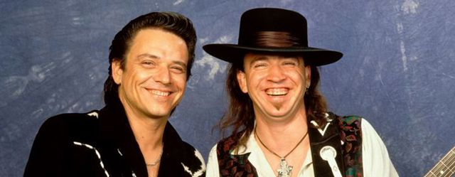 Stevie Ray Vaughan y su Hermano Jimmie