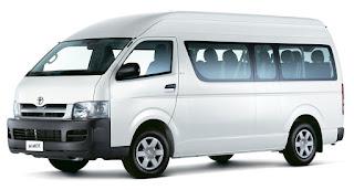 Sewa Mobil Toyota Hiace Commuter Van Padang