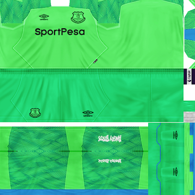 PES 6 Kits Everton Season 2018/2019 by Dibu Edition