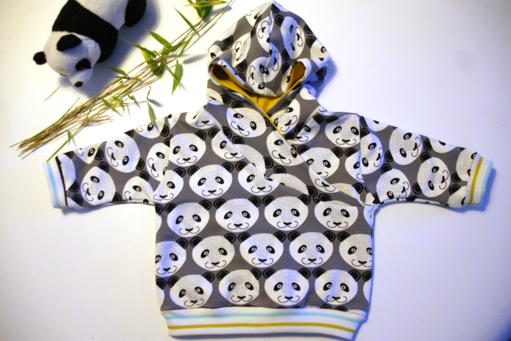 lapped infant hoodie