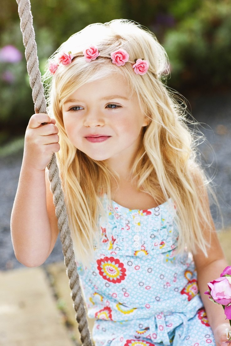 Little Girls Nails And Girls On Pinterest: 16 Easy Hairstyles For Girls
