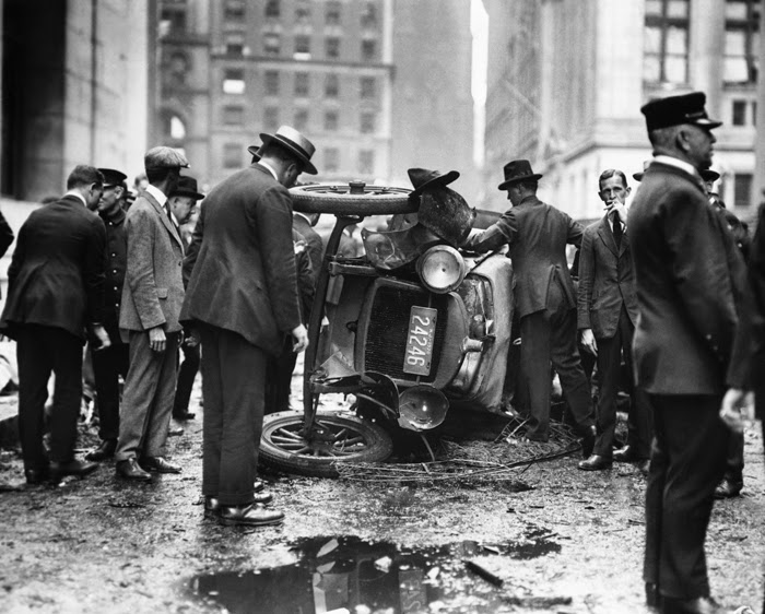 Explosión de bomba en Wall Street