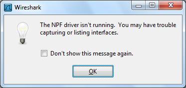 npf driver for wireshark