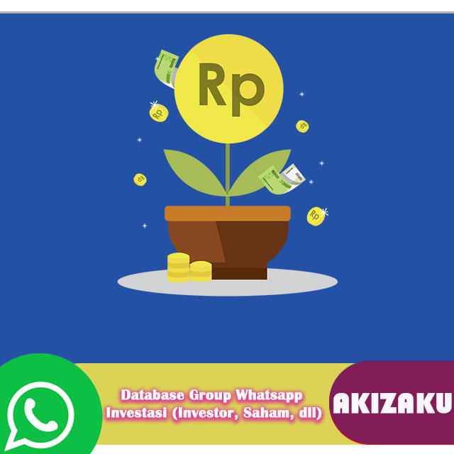 Database Group Whatsapp Investasi (Investor, Saham, dll)
