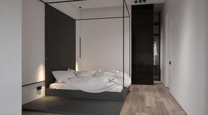 Thiết kế nội thất chung cư 60m2 cho vợ chồng trẻ- 7