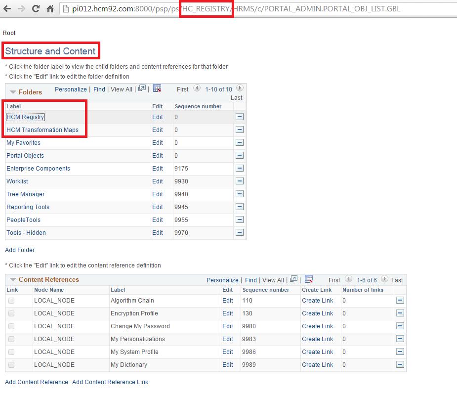 Sasank's PeopleSoft Log: HCM SOA Registry