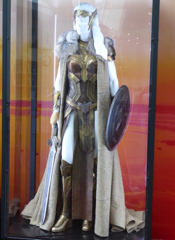 Connie Nielsen Queen Hippolyta Wonder Woman film costume