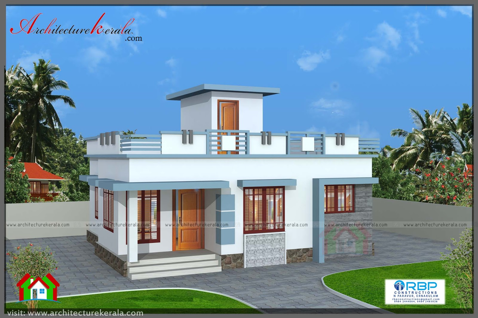 House building kerala 1000 sq ft 8 lakhs joy studio for 1000 sq ft house design for middle class
