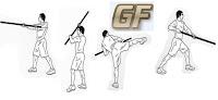 cara membesarkan otot lengan dengan Tongkat