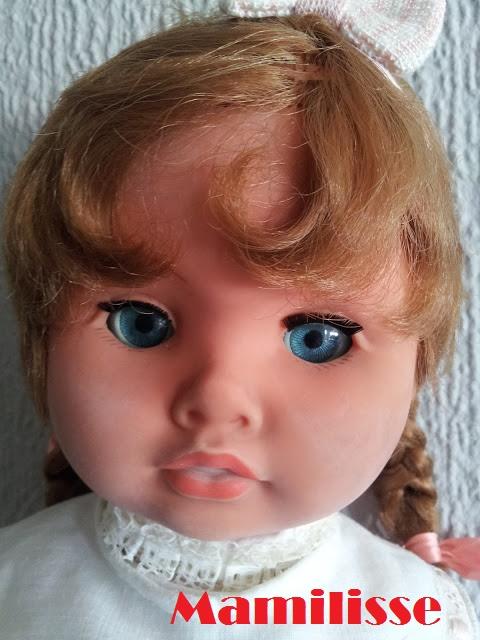 Carita de muñeca Cristina Años 60