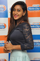 Shravya in skirt and tight top at Vana Villu Movie First Song launch at radio city 91.1 FM ~  Exclusive 29.JPG
