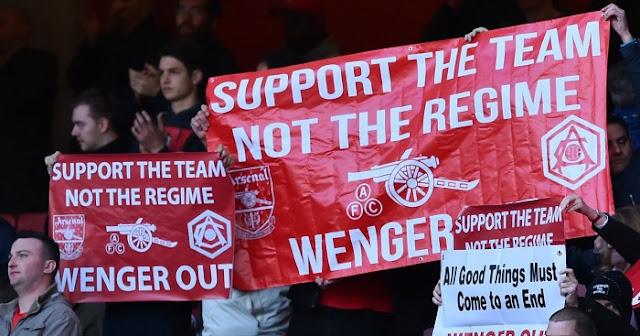 Dihina Fans Arsenal, Wenger Janji Akan Lebih Fokus