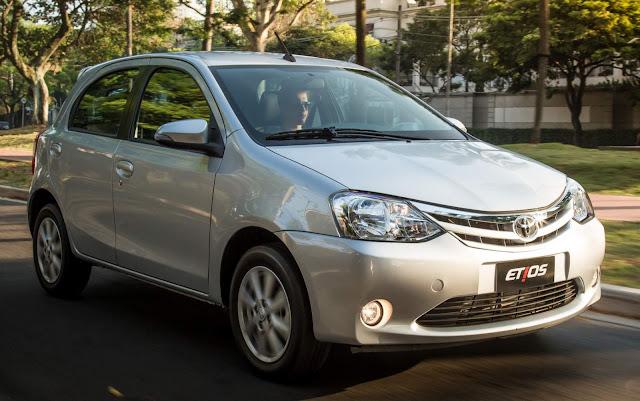 Novo Toyota Etios Automático