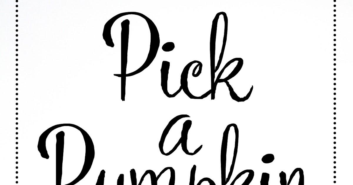 Sing Good Morning: Pick a Pumpkin