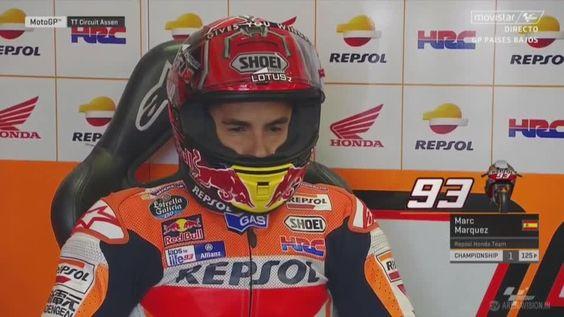 Marquez : Saya Kira Akan Ada pergantian Motor di Tengah Balapan. Itu Salah Saya