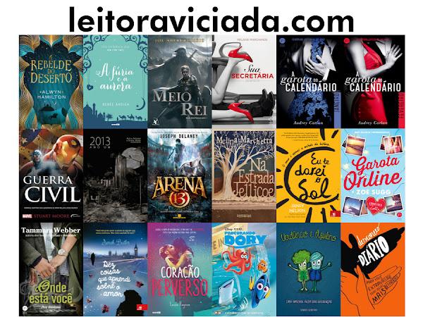 [Encerrado] Sorteio de 5 Anos do Leitora Viciada: 19 livros, 7 ganhadores!