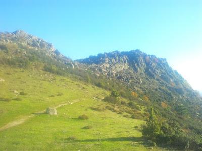 A las Machotas, con el grupo de senderismo escalada y ocio activo - escapadillas.