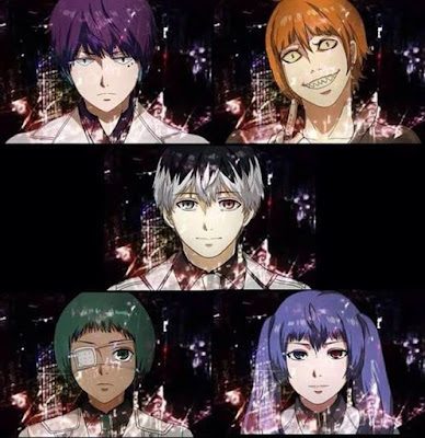 Tokyo Ghoul re Quinx Squad