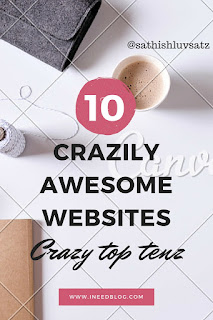 10 crazily awesome website list.