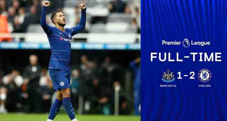 Hasil Newcastle United vs Chelsea Skor Akhir 1-2 [Premier League 2018]