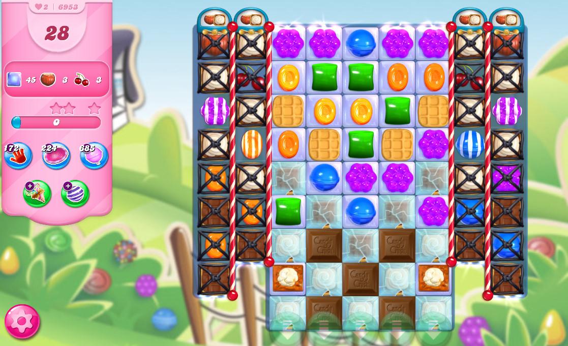 Candy Crush Saga level 6953