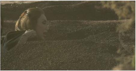 """بالرعب والصراخ.. ريهام سعيد تواجه """"سحلية"""" #رامز_تحت_الأرض"""