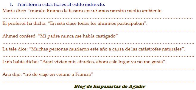 5 Ejemplos De Estilo Directo E Indirecto Colección De Ejemplo
