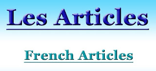 Articles in French