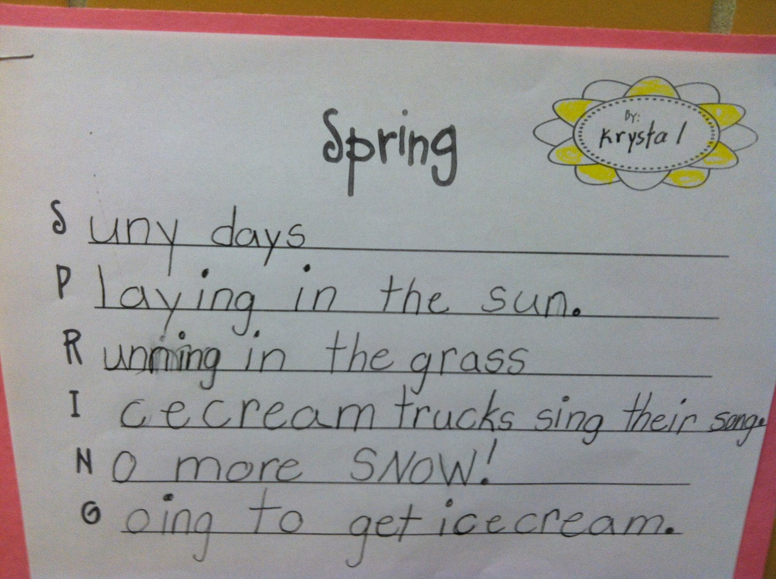 Bee The Change Acrostic Poems