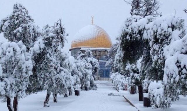 #طقس_فلسطين || منخفض قطبي يصل فلسطين يوم الاثنين 22/1/2018 ويستمر 6 ايام .
