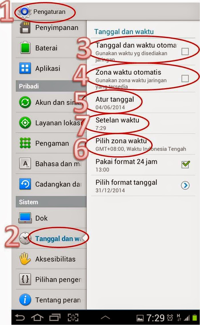 Mengatasi Paket Data Android Tidak Bisa Aktif